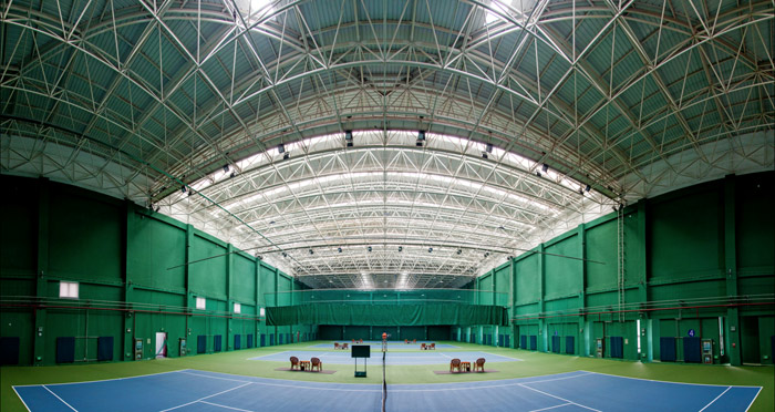 国家体育总局秦皇岛训练基地网球馆工程